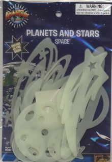 Glow Planets and Stars