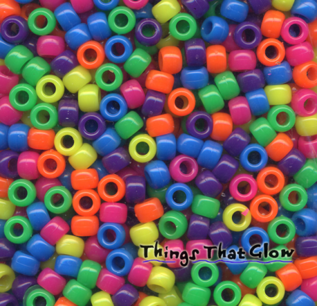Bag of Beads-NEON MULTI COLOR