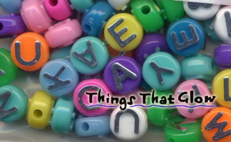 Alphabet Beads-Multi Color