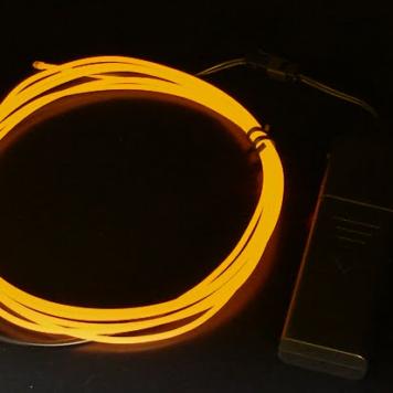 EL Wire 7ft Kit-ORANGE