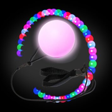 LED Poi Ball - (Set of 2)