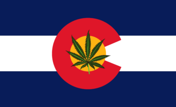 Colorado State Cannabis Flag