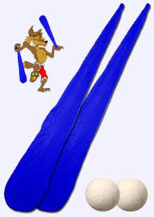 Pair of Foxy Sock POI-BLUE