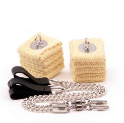 Cathedral Ball Chain Pair