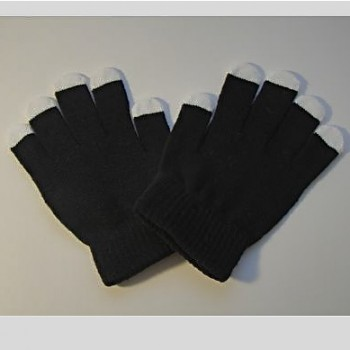 Blackout Cotton Glove Pair- NO LIGHTS