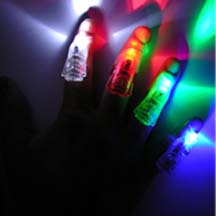 LED Color Changing Finger Light 4pk