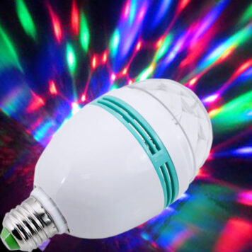 LED Disco Party Light Bulb