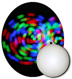 POI Ball Single-RGB STROBE