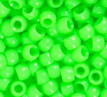 Bag of Beads-LIME GREEN