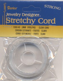Stretchy Cord-.5mm 9yd