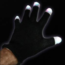 Strobe Glove BLACKOUT-PAIR